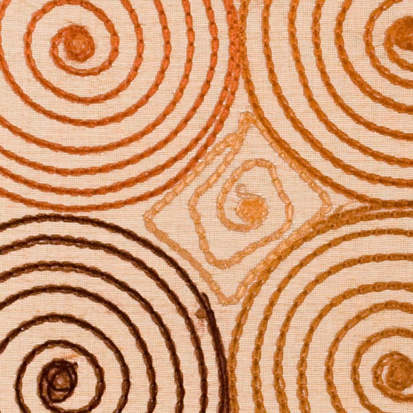 Terra Cotta & Brown Concentric